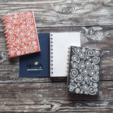 Ammonite - Coral Notebooks