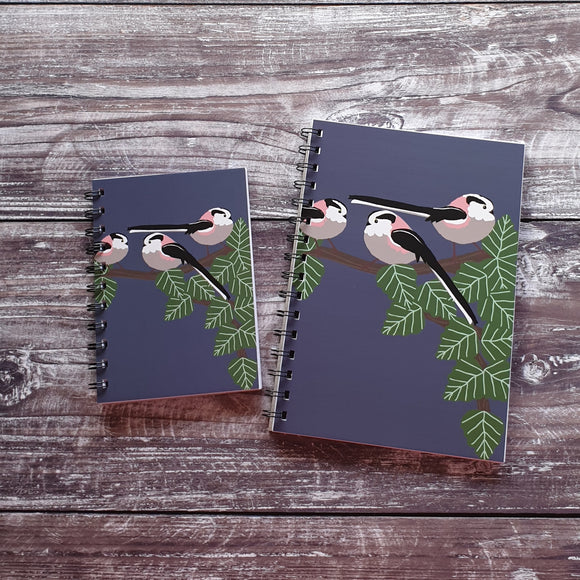 Long Tailed Tits Notebooks