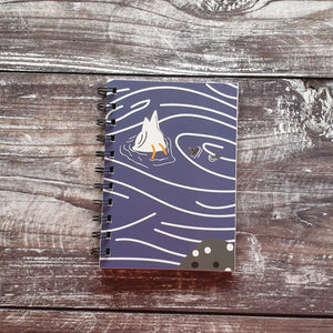 Seagull and Fish Notebooks