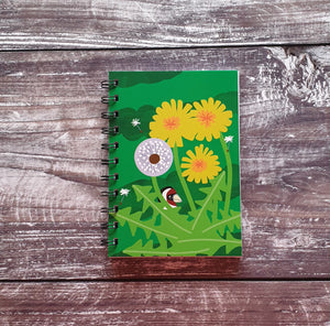 Dandelion Love Notebooks
