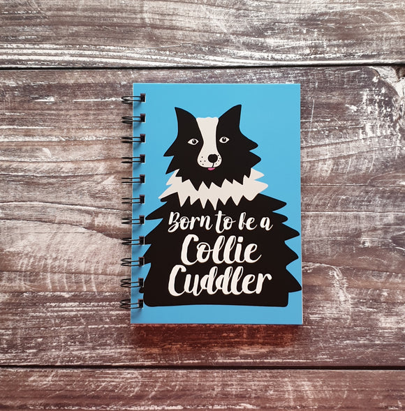 Collie Cuddler A6 Notebooks