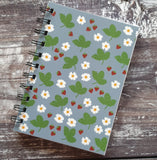 Alpine Strawberry - Blue Notebooks