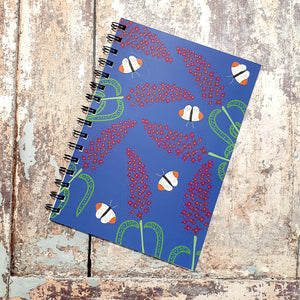 Buddleia Love - Blue Notebooks