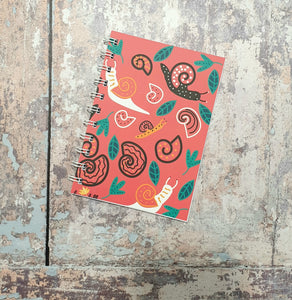 Snail Love Notebooks