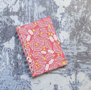 Beech and Berries - Pink Notebooks