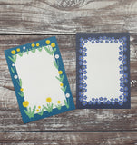Wildflowers Gift Note - Set of 4