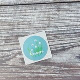 Persevere 38mm Vinyl Sticker