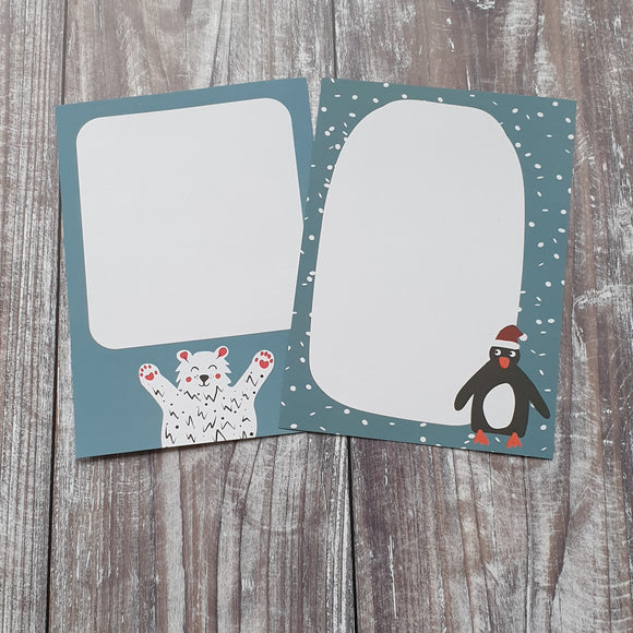 Christmas Gift Note - Set of 4