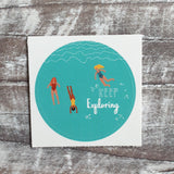 Keep Exploring 38mm Vinyl Sticker
