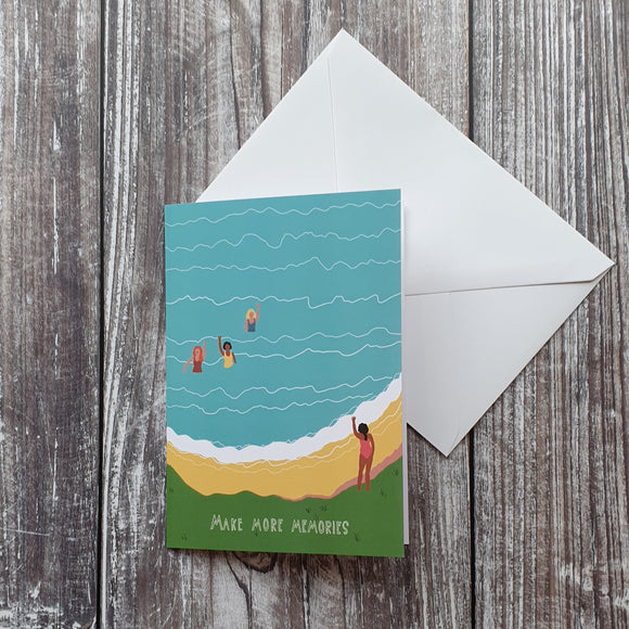Make More Memories Greeting Card