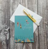 Keep Exploring Greeting Card