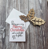 Merry Christmas - Wonderful Christmas Card