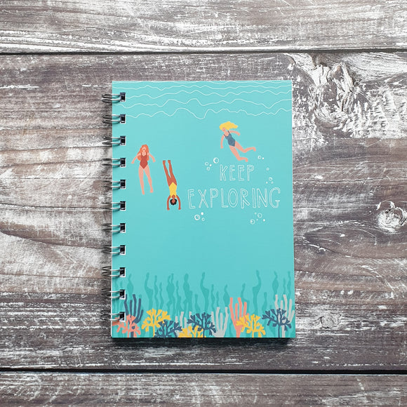 Keep Exploring A6 Notebook