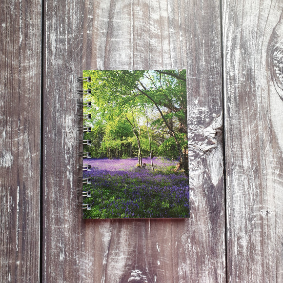 Bluebell Wood A6 Notebook