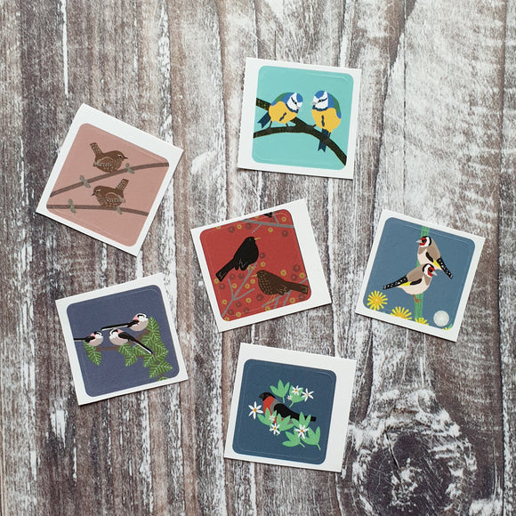 Songbirds Envelope Sticker Sets
