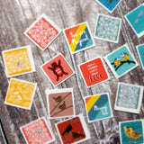 Fossil Envelope Sticker Sets