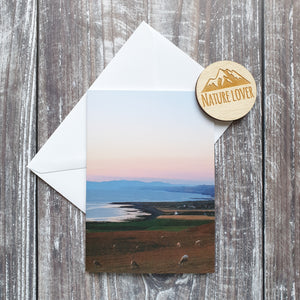 Welsh Coast Photographic Greeting Card