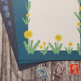 Wildflowers Writing Paper Set