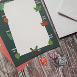 Leaf Identification Writing Paper Set