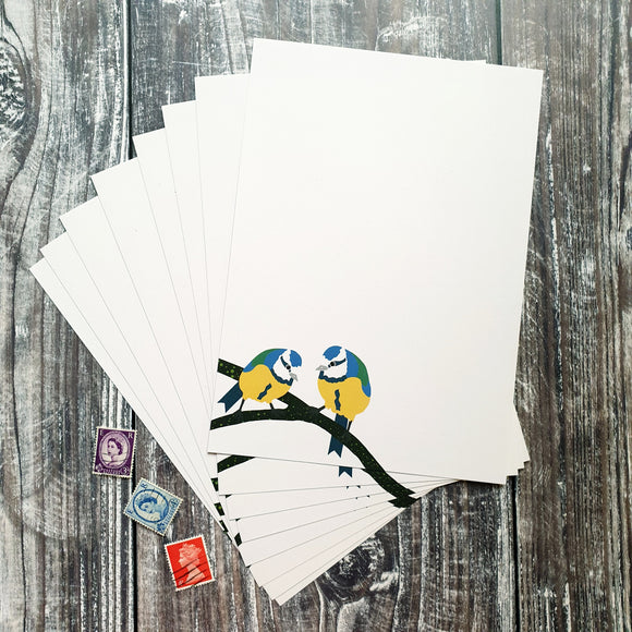 Bluetits Writing Paper Set