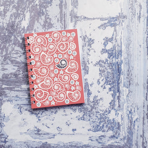 Fossil Beach - Pink Notebooks