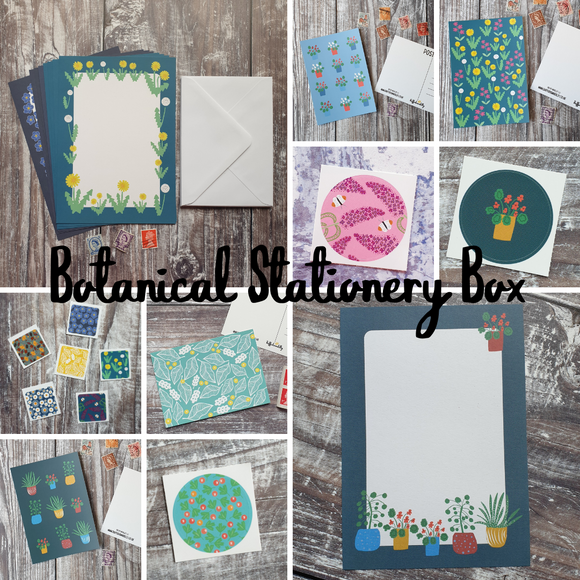 Botanical Stationery Box