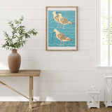 Curlew Family Art Print