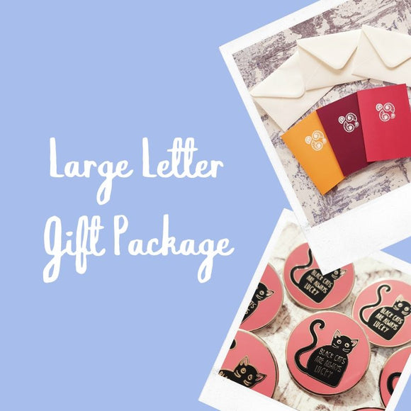 Large Letter gift package