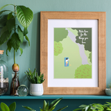 Make Time for the Things You Love Art Print