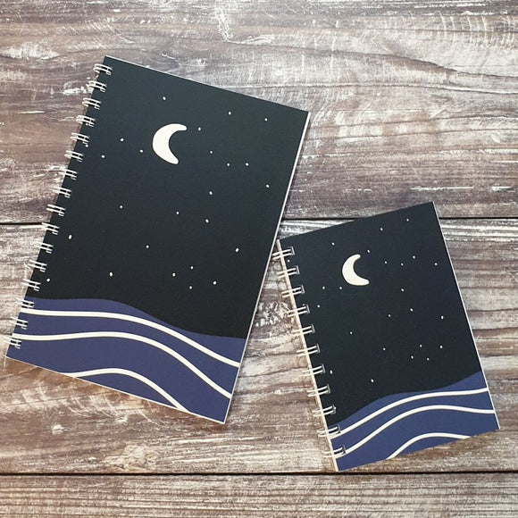 Moonlit Night Notebooks