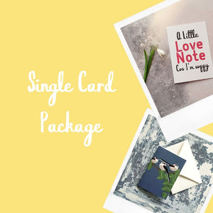 Single Card Package