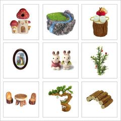 Dollhouse Miniature DIY Doll House With Furnitures Wooden House Toys For Children Birthday Gift with Dust Cover Rotate Music 29