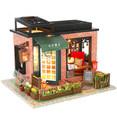 DIY  Miniature Dollhouse With Furnitures Wooden House Toys For Children New Year Christmas Gift