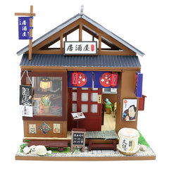 DIY Doll House Wooden Doll Houses Miniature dollhouse Furniture Kit Toys for children Christmas Gift