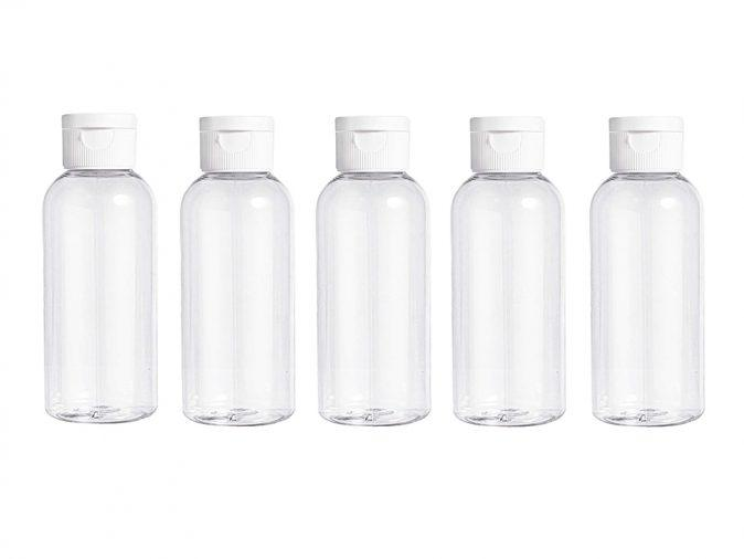 100ml Empty Bottle and Flip Lid x1 by  Generise