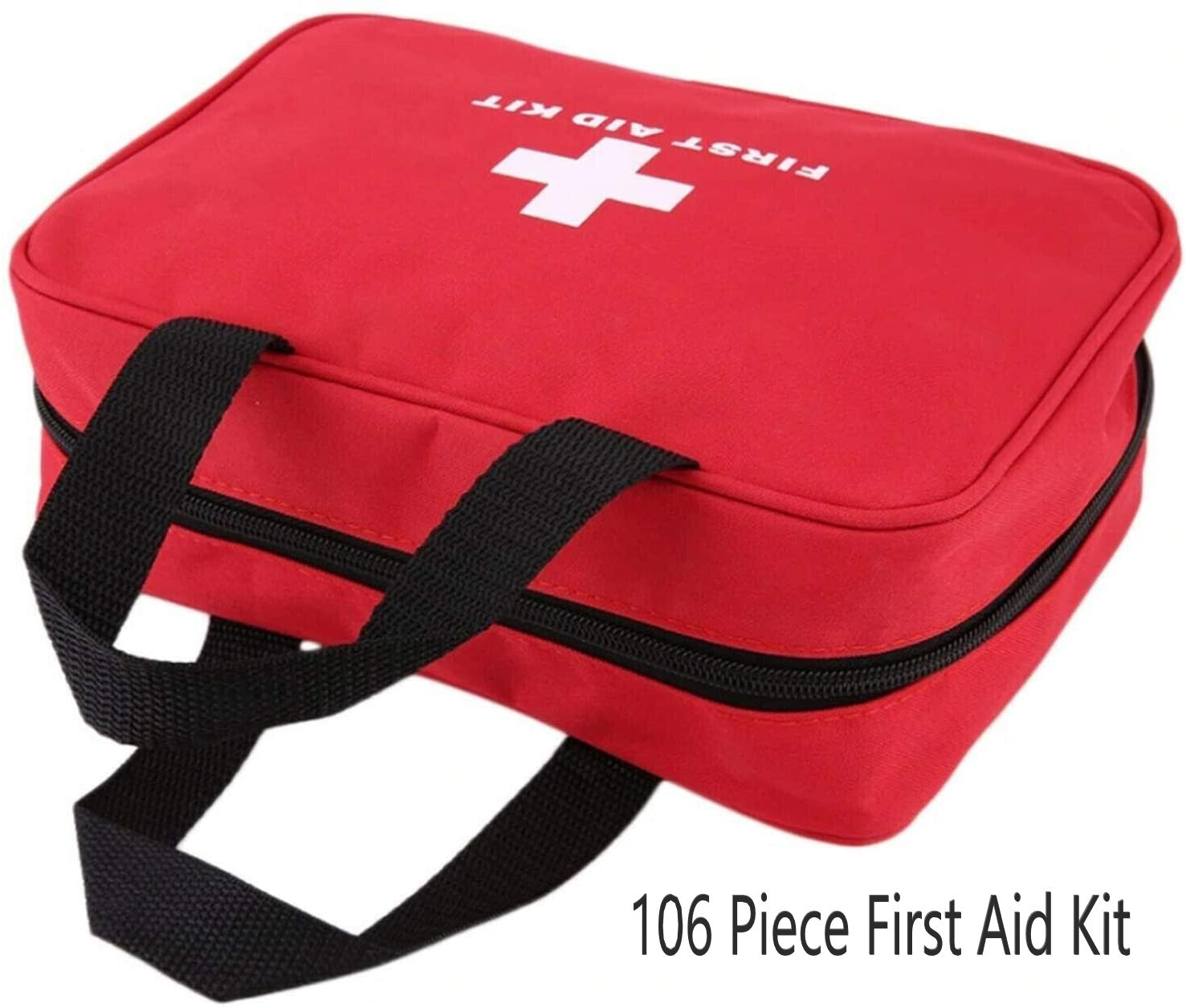 106pc First Aid Kit with Carry Bag