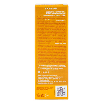 Photoderm Cover Touch SPF 50+ Tono Claro 40 ml