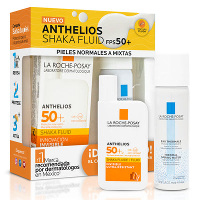 KIT ANTHELIOS FPS50+FLUIDO SHAKA 50ML+ATA 50ML