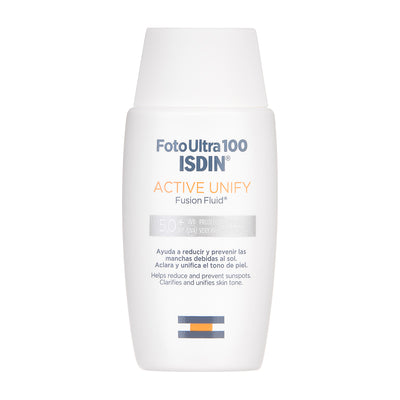 Foto Ultra 100 Isdin 50+ Active unify 50ml sin color