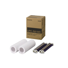 Papel y ribbon para impresora Sony UPC-R81MD 216 MM x 15 M