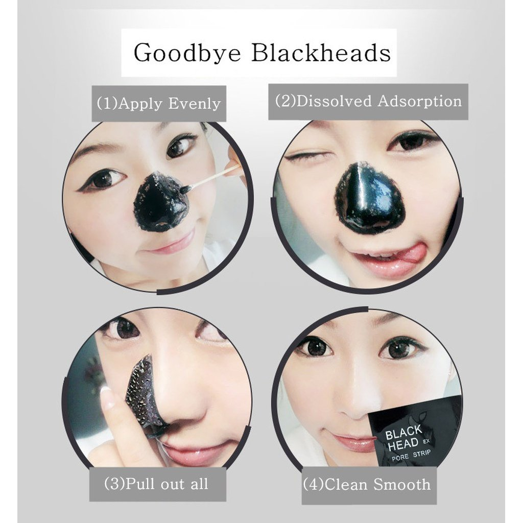 Pack De 5 Ou 10 Masques Peel-Of Black Mask