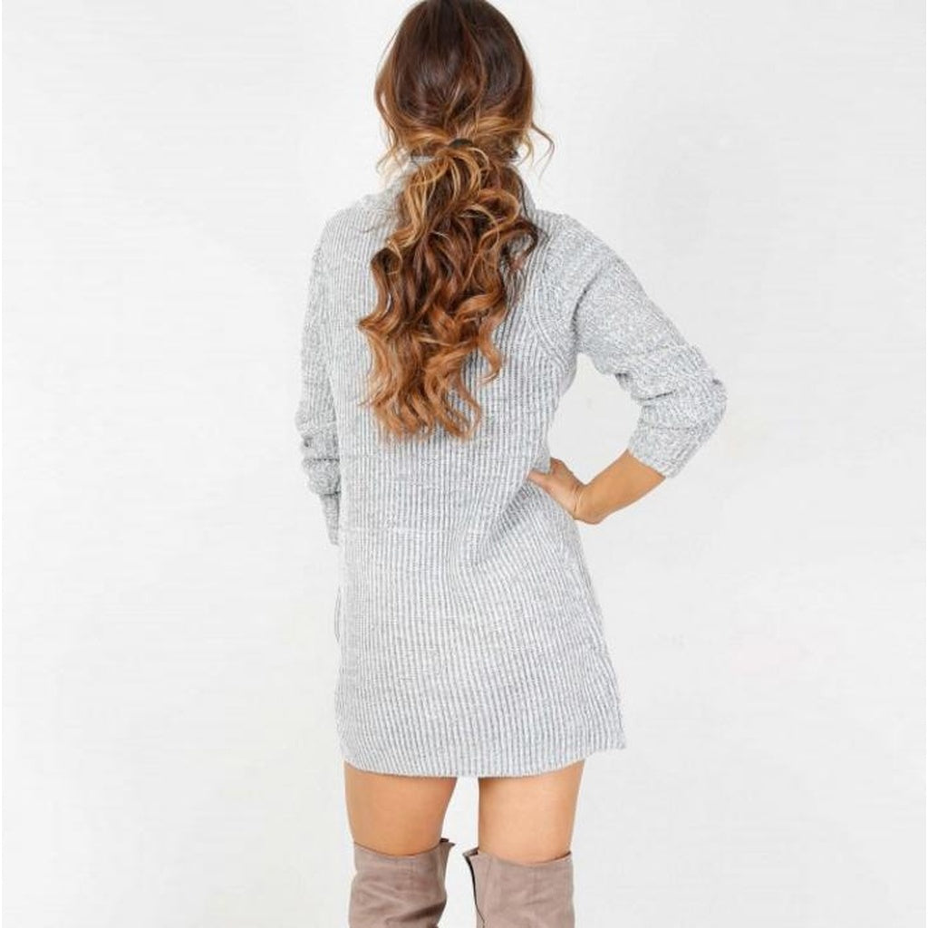 Robe-Pull Coupe A Décontractée -  - Casual So'Fame