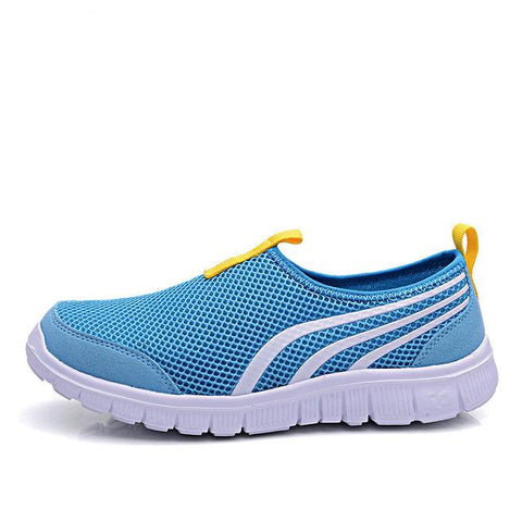 Baskets Sport/yoga - Bleu & Jaune / 35 5