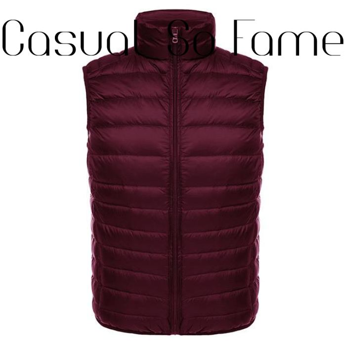Veste Sans Manches Ultra Léger - Wine Red / L / China