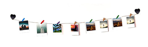 VAH Heart Wooden Hanging Photo Display