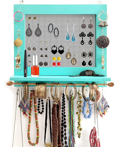 VAH Jewelry Organizer with Bracelet Rod