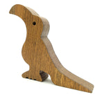 VAH Toucan BirdDesign Small Non-Slip wooden Door Stoppers - To Stop Or Jam the Doors