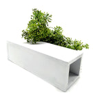 VAH White Magnetic Hydroponic or Artificial Plants Holder for Refrigerator Kitchen Counter Office Decor Desk Plant Decoration ( Hanging or Lay Flat)
