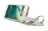 VAH Keychain with Mobile Stand (White)