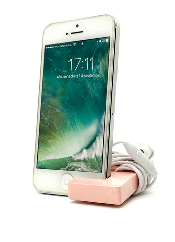 VAH Keychain with earphone and Mobile Stand (Pink)